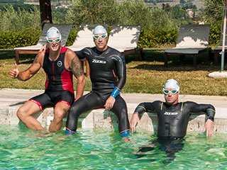 Triathletes can spend holidays in Tuscany doing sports. Contact the Travel Agency for sport holidays in italy near Florence